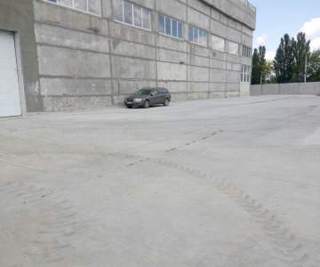 Concrete Platforms And Roads